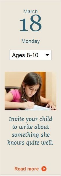 Read the rest of this tip at http://www.scholastic.com/parents/.