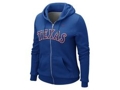Ladie's Texas Ranger Zip-Up hoodie