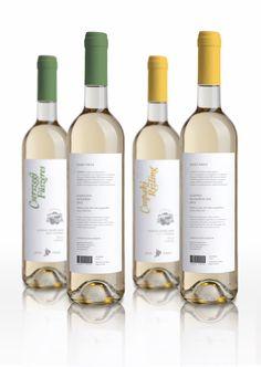 Jasdi Wine Logo & Label by Lili Köves, via Behance