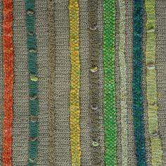 Design Detail | Embellshment crochet on top of crochet
