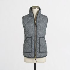 J. Crew Herringbone Vest - $64.50 (this almost never goes on sale - get it while you can!)