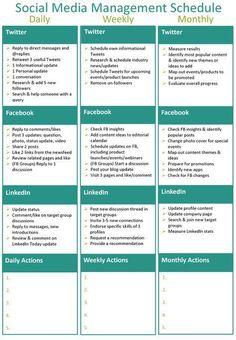 https://social-media-strategy-template.blogspot.com/ Social Media Management Calendar | ... details below to receieve the social media management schedule PDF