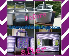 Easy and cute way to decorate buckets for your classroom.