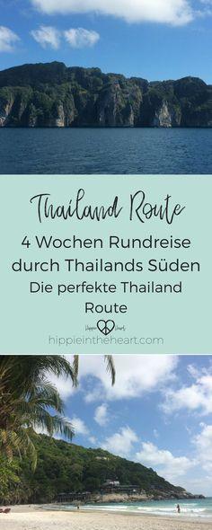 Die perfekte Route für 4 Wochen in Thailand. Reise 4 Wochen durch Thailand und hol dir Inspiration mit dieser Rundreise. Von Bangkok in den Südwesten und weiter in den Golf von Thailand. #thailand #reiseroute #rundreise #backpacking #thailandbackpacking #reisen #travel #thailändischeinseln #bangkok
