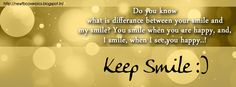 FB Covers Quotes | always smile quotes saying fb covers | inspirational quotes…