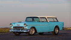 1955 Chevrolet Nomad Resto Mod 350/300 HP, Automatic presented as lot T141 at Kissimmee, FL 2015 - image1