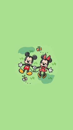 Pink Wallpaper Cartoon, Mickey Mouse Wallpaper Iphone, Cute Cartoon Wallpapers, Wallpaper Iphone Cute, Disney Wallpaper, Cute Disney Characters, All Disney Princesses, Arte Do Mickey Mouse, Happy Birthday Disney