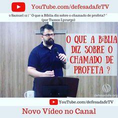 Novo Vídeo no Canal Defesa da Fé TV Link direto: https://www.youtube.com/watch?v=dvmwZU4Bph8  http://ift.tt/2eaBugG  #defesadafe #mdfé #apologética #lycurgo #igreja #profeta #profecia