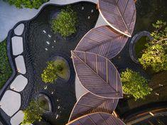 芭堤雅自然式海岸酒店 Navana Nature Escape / A U N design studio – mooool木藕设计网 Landscape Concept, Landscape Plans, Urban Landscape, Architecture Concept Diagram, Landscape Architecture Design, Pergola, Canopy Design, Shade Structure, Parking Design
