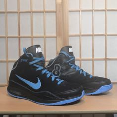 reputable site 87cfc d7072 Nike Shoes   Nike Air Deron Williams Basketball Shoes   Color  Black Blue