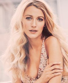 "Blake Lively. #BlakeLively. ""View every piece of coal as the potential diamond in rough. Goodness and Beauty do exist in every being."" - Deodatta V. Shenai-Khatkhate."