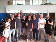 Vyrus Divisione Motori We want to thank Gard the owner of ARCH Motorcycle, his designer and Keanu Reeves for yesterday's (6_6_2015) visit. For us it was an honor!  (x)  Vyrus is a small, exclusivist Italian motorcycle manufacturer based in Coriano, Italy. … Currently Vyrus have two models … The engineers of the company are experienced in exotic motorcycles, many of them having worked for companies like Ducati or Bimota.  Sounds very much like Arch Motorcycle Company