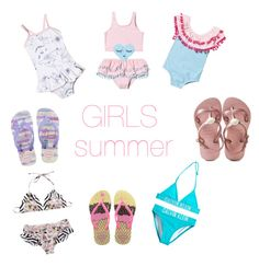 """""""girls summer"""" by geopaganeli on Polyvore featuring Fendi, Calvin Klein and Havaianas"""