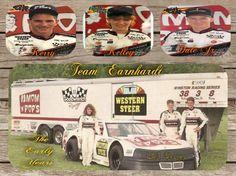 Kerry, Kelley, and Dale Earnhardt Jr.