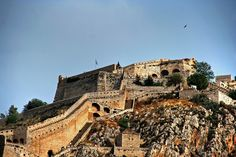 10 Amazing Greek Castles – Tales of Medieval Times! Greek Castle, Olympia Greece, Greek History, G Adventures, Medieval Times, In Ancient Times, Byzantine, Barcelona Cathedral, Paris Skyline