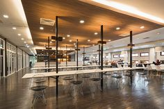 Library of Faculty of Engineering, CU on Behance Cafeteria Design, Engineering, Interior Design, Behance, Garden Paths, Furniture, Home Decor, Coffee Shop Design, Nest Design