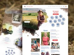 Boer zoekt Vrouw website redesign by Remco Bakker
