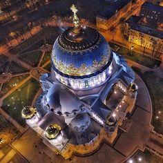 Naval cathedral in #Kronstadt  Photographer: Yury Matveev  #spb #stpetersburgguide #stpetersburg #Russia #sanktpetersburg #sanktpeterburg #piter #питер #спб #россия #кронштадт #петербург #санктпетербург
