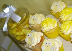 Yellow and White with a touch of Owl | CatchMyParty.com