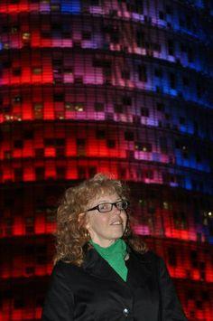 Vor dem Torre Agbar (c) Foto von M.Fanke