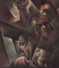 Tullio Crali I sotterranei 1934