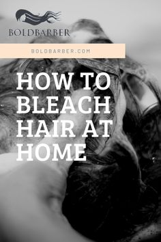 Bleaching hair at home is not an easy thing to do, but as the virus is spreading all over the world, we have to and do everything at home! Good for you we have a step by step guide on how to bleach your hair at home! Bleaching Hair At Home, Blonde Hair Tips, Step By Step Hairstyles, Bleached Hair, Step Guide, Hair Hacks, Most Beautiful Pictures, My Hair, Things To Do