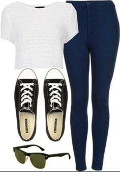 Cute casual outfits for teens, teenage girl outfits, teenager outfits, teenage girl Teenager Outfits, Teenager Mode, Teenage Girl Outfits, Fashion Moda, Love Fashion, Girl Fashion, Fashion Outfits, Fashion Ideas, Dress Fashion
