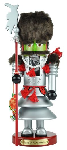 Wizard of Oz Guard. This is one nut cracker I would add to my Christmas stuff. He is so cute and I don't like nut crackers generally.
