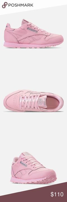 29ae48eb7ff REEBOK CLASSIC LEATHER CASUAL SHOES PINK PINK PINK REEBOK CLASSIC LEATHER  CASUAL SHOES WOMEN AND YOUTH BRAND NEW SHIP FAST Shoes Athletic Shoes