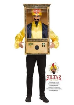 Zoltar Speaks Booth Men's Costume