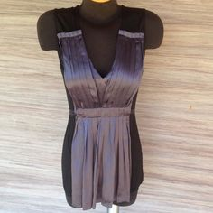 Silk BCBGMAXAZRIA Top Chic top. Can be dressed up or down. Excellent condition. BCBGMaxAzria Tops Blouses