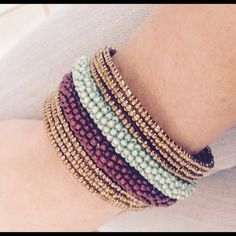 Spotted while shopping on Poshmark: Gorgeous boho statement cuff! #poshmark #fashion #shopping #style #Handmade #Jewelry