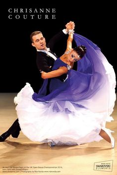 Stunning. Beautiful dress for ballroom dancing.
