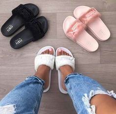 befeda5c4 55 Best Rihanna Slides images in 2017 | Tap Dance, Beautiful shoes ...