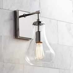 Possini Euro Roselle 12 Polished Nickel Wall Sconce is a quality Bathroom Lighting for your home decor ideas. Bathroom Sconce Lighting, Bathroom Sconces, Bathroom Light Fixtures, Vanity Lighting, Wall Sconces, Bathrooms, Bathroom Ideas, Hall Bathroom, Basement Bathroom