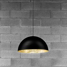 Hanglampen STCHU-MOON 02 60CM ZWART/GOUD DESIGN HANGLAMP Catellani & Smith SM260O