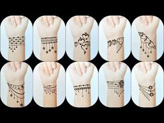 Mehndi Designs Finger, Henna Tattoo Designs Simple, Mehndi Designs For Kids, Henna Designs Feet, Mehndi Designs Book, Full Hand Mehndi Designs, Mehndi Designs For Beginners, Mehndi Designs For Fingers, Beautiful Henna Designs