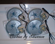 Dallas Cowboys      	Cookies by Shannon  cookiesbyshannon@yahoo.com