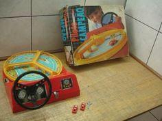 Outro brinquedo de minha infância. Piloto Campeão. Aprendendo a dirigir desde pequeno.