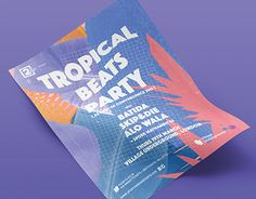 "Check out new work on my @Behance portfolio: ""Tropical Beats Party"" http://be.net/gallery/37011367/Tropical-Beats-Party"