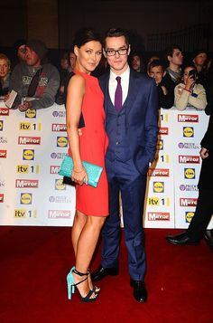 Emma married former Busted star Mat Willis after she interviewed him on MTV in 2005 & he proposed on a romantic trip to Venice in now have 2 kids. Matt Willis, Emma Willis, Melanie Sykes, 28 Years Old, Tv Presenters, Romantic Travel, Famous Faces, Mtv, All Star