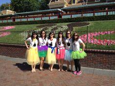Disney Princess Bachelorette Trip http://skiptothedetails.wordpress.com/2013/10/31/the-epic-bachelorette-party-at-disneyland/