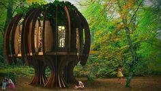 Quiet Treehouse: A sylvan escape that battles noise pollution | MNN - Mother Nature Network