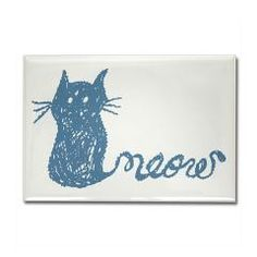 adorable hand drawn cat with tail that says meow M> Cat with tail thats says Meow> Victory Ink Tshirts and Gifts