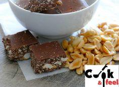 Μπουκίτσες σοκολάτας με φυστικοβούτυρο | Protein Bars, Sweet Life, Peanut Butter, Diet, Snacks, Desserts, Recipes, Food, Food And Drinks