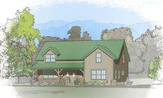 Classic Barn 4 Home Plans, Dream Home