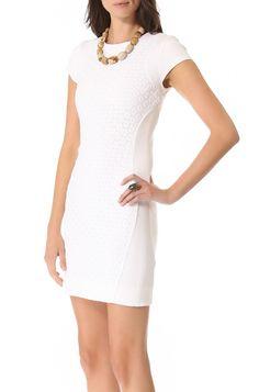 NWT Diane Von Furstenberg DVF Pele Eyelet Dress, White, sz 8, $398 retail | eBay