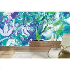 Dekoriere deine Wand mit der floralen Fototapete. #Butterfly #Fototapete #Wadeco // http://www.wadeco.de/butterfly-garden-fototapete-wandtattoo.html
