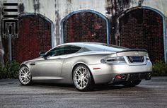 Aston Martin DB9. One look and I'm nursing a semi