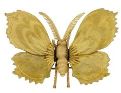 Mario Buccellati Moth Brooch
